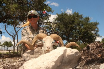 Record Texas Dall Ram Hunt