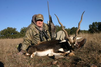 Blackbuck Antelope Rifle Hunt