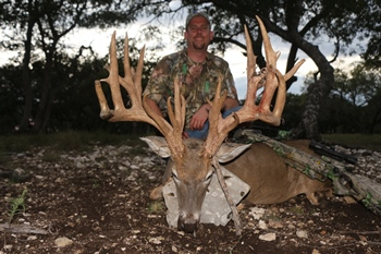 World Record Texas Whitetail Crossbow Hunt