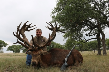 World Record Red Stag Muzzleloader Hunt