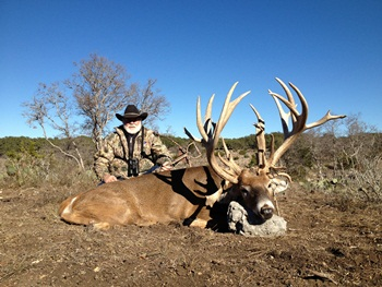 World Record Texas Whitetail Hunt