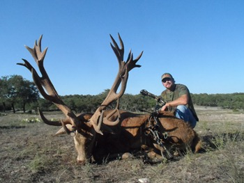 World Record Red Stag Bow Hunt