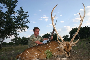 Trophy Axis Rifle Hunt