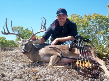 145 inch Texas Whitetail Hunt