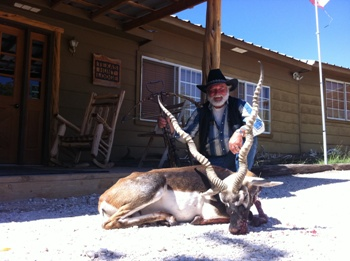 Record Crossbow Blackbuck Antelope Hunt