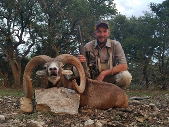 Texas European Mouflon Hunt