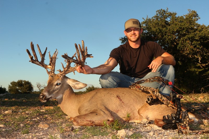Monster Texas Whitetail Hunt