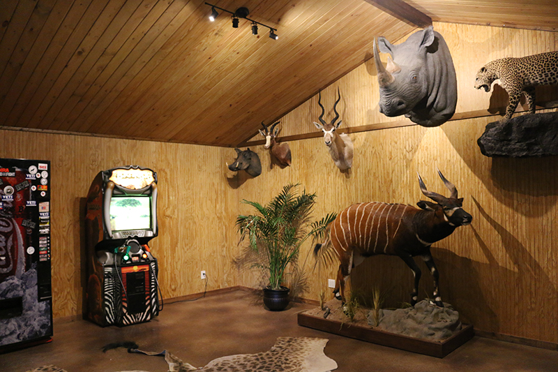 Trophy Room at Lodge