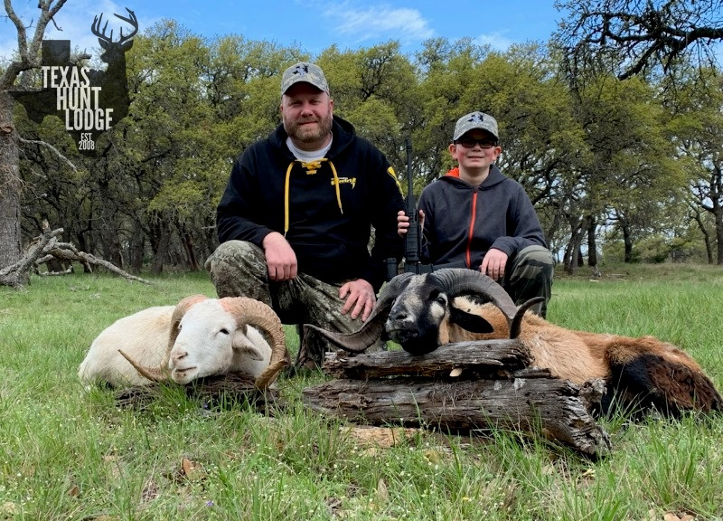 Father/Son Ram Hunt