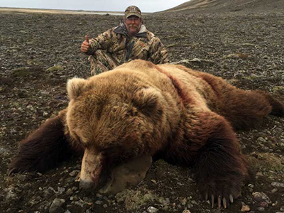 Grizzly Bear Hunt Alaska