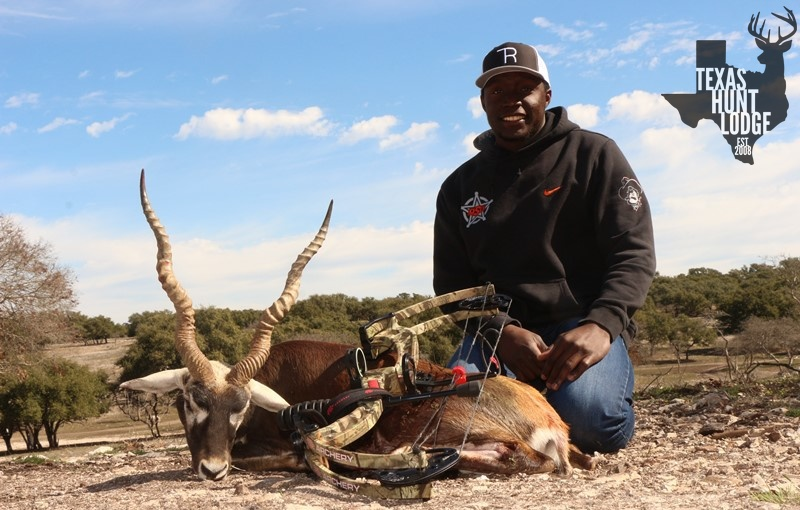 Blackbuck Bow Hunting in Texas