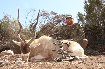 February 27, 2016 Trophy Addax Bull Hunt