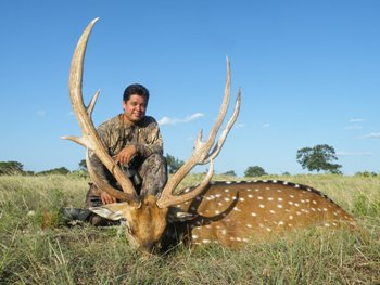 World Record Axis Buck Hunt