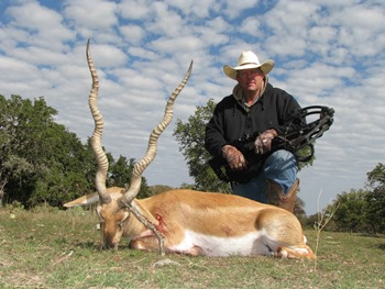 Blackbuck Antelope Crossbow Hunt