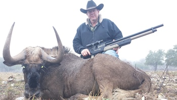 Texas Black Wildebeest Hunt