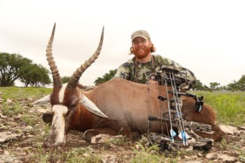 Texas Blesbok Bow Hunt