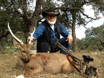 World Record Hog Deer Crossbow Hunt