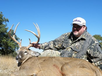 162 inch Texas Whitetail Hunt