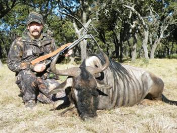 World Record Wildebeest Hunt